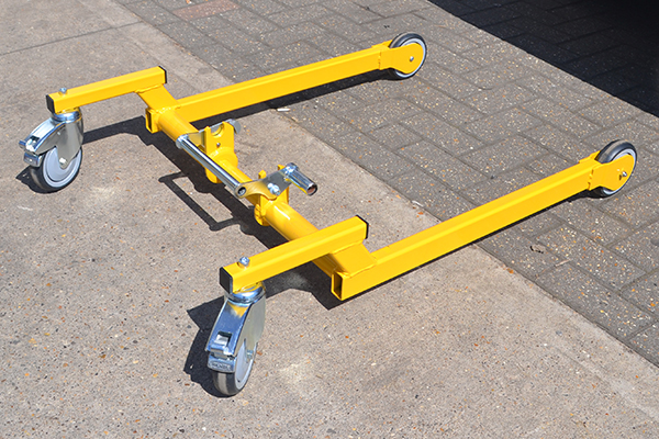 Vanamte lifting equipment for vans trolley attachment