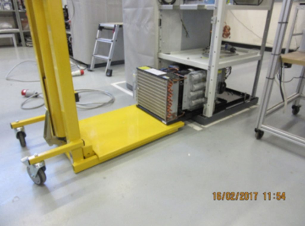 lifting equipment with low levels